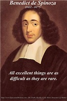 Benedict de Spinoza Ethics Philosophy