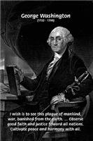 George Washington: American Revolution War Peace