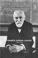 Nobel Prize Lorentz Electromagnetic Field in Ether