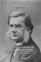 Thomas Huxley Darwin Natural Selection