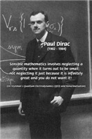 Mathematics Physics: Paul Dirac Quantum Theory