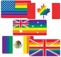 Gay Pride Flags
