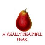 A beautiful pear