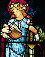St Catherine of Alexandria. Patron saint teachers
