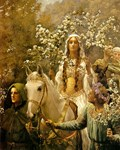 Queen Guinevere's Maying