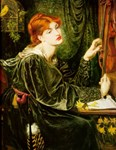 Veronica Veronese by Rossetti