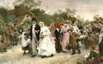 Village Wedding by Samuel Luke Fildes