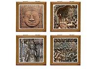 Angkor Wat Tile Boxes