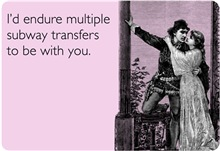 Multiple Subway Transfers