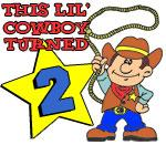Little Cowboy Turned Two