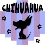 Chihuahua Blue/Purple Stripe