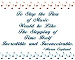 The Flow of Music