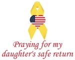 Praying for my daughter's safe return items