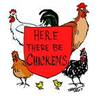Here There Be Chickens
