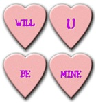 Be Mine Candy Hearts