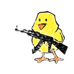 Vintage Gun Chick
