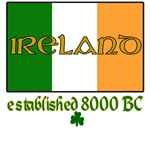 Ireland: Established 8000 BC