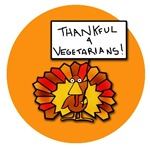 Funny Thanksgiving Thankful for Vegetarians