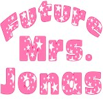 Future Mrs Jonas T shirts and Buttons