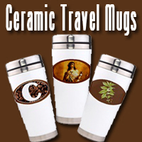 Ceramic Travel Mugs for Hot Coffee on the Go!