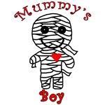 Mummy's Boy Cute Halloween T-shirt