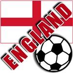 World Soccer ENGLAND Team T-shirts