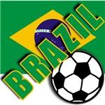 World Soccer Brazil Team T-shirts