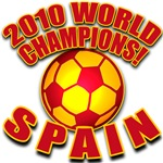 WORLD SOCCER CHAMPS in Spain Colors