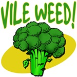 VILE WEED! Newman Broccoli Humor from Seinfeld