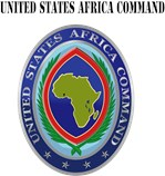 United States Africa Command with Text