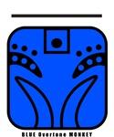 BLUE Overtone MONKEY