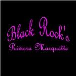 Pink Font Black Rock's Riviera Marquette