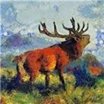 Surreal Elk