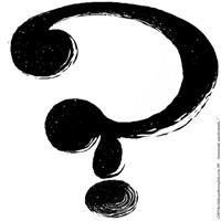 100.homemade questionmark..