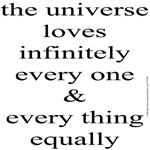 368b. the universe loves...equally