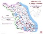 JIANGSU, China Map