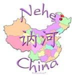 Nehe Color Map, China