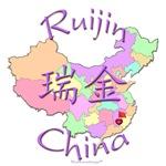 Ruijin Color Map, China