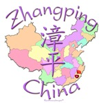 Zhangping China Color Map