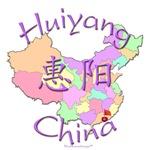 Huiyang China Color Map