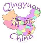 Qingyuan China Color Map