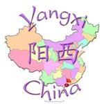 Yangxi China Color Map