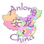 Anlong China Color Map