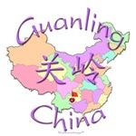 Guanling China Color Map