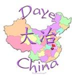 Daye Color Map, China