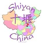 Shiyan Color Map, China