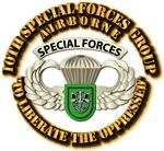 10th SFG Airborne Bdge w Flash