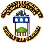 Army - 3rd Infantry Regiment w Korea