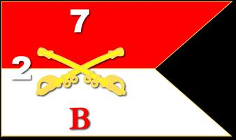 Guidon - B Troop - 2nd Squadron - 7th Cavalry Regi