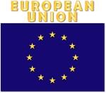 European Union Flag w Txt